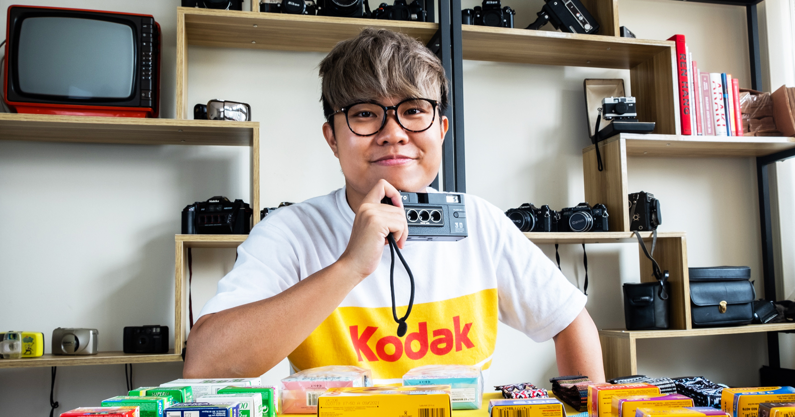 From Carousell-er To Entrepreneur, This S'porean Wants To Prove #FilmIsNotDead With His Store